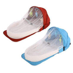 2 In 1 Foldable Portable Baby Bed & Backpack Baby Crib